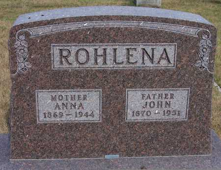 ROHLENA, ANNA - Johnson County, Iowa | ANNA ROHLENA