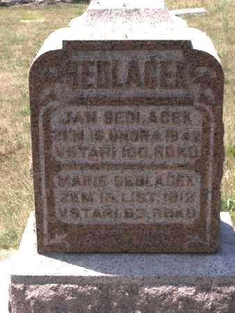 SEDLACEK, MARIE - Johnson County, Iowa | MARIE SEDLACEK