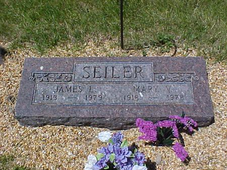 SEILER, JAMES LEONARD - Johnson County, Iowa | JAMES LEONARD SEILER