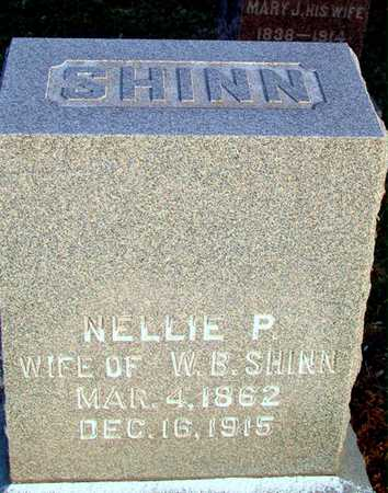 SHINN, NELLIE P - Johnson County, Iowa | NELLIE P SHINN