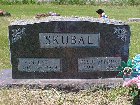 MCBIDE SKUBAL, ELSIE - Johnson County, Iowa | ELSIE MCBIDE SKUBAL