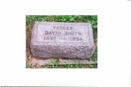 SMITH, DAVID - Johnson County, Iowa | DAVID SMITH