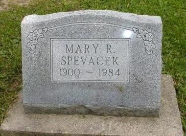 SPEVACEK, MARY R - Johnson County, Iowa | MARY R SPEVACEK