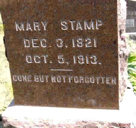 STAMP, MARY - Johnson County, Iowa | MARY STAMP