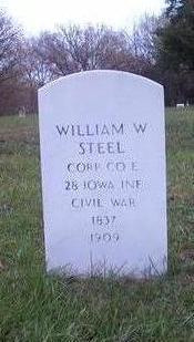 STEEL, WILLIAM W. - Johnson County, Iowa | WILLIAM W. STEEL