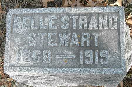 STRANG STEWART, BELLE - Johnson County, Iowa | BELLE STRANG STEWART