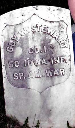 STEWART, GUY W. - Johnson County, Iowa   GUY W. STEWART