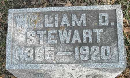 STEWART, WILLIAM D - Johnson County, Iowa | WILLIAM D STEWART