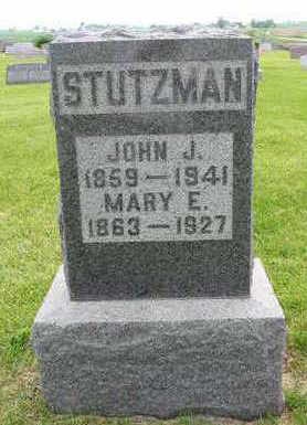 SLAUBAUGH STUTZMAN, MARY - Johnson County, Iowa | MARY SLAUBAUGH STUTZMAN