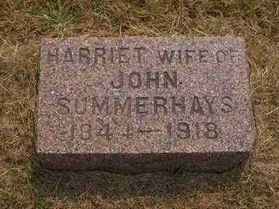 SUMMERHAYS, HARRIET - Johnson County, Iowa | HARRIET SUMMERHAYS