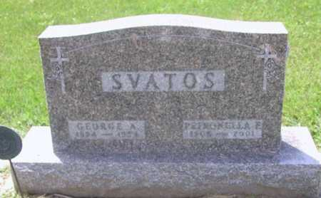 SVATOS, GEORGE A - Johnson County, Iowa | GEORGE A SVATOS