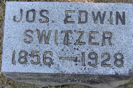 SWITZER, JOS. EDWIN - Johnson County, Iowa | JOS. EDWIN SWITZER
