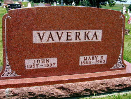 VAVERKA, JOHN - Johnson County, Iowa | JOHN VAVERKA