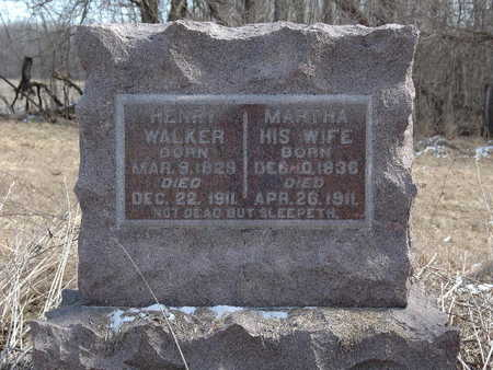 WALKER, MARTHA - Johnson County, Iowa | MARTHA WALKER