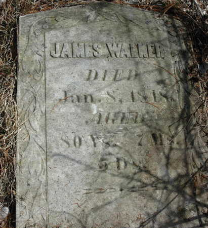 WALKER, JAMES - Johnson County, Iowa | JAMES WALKER