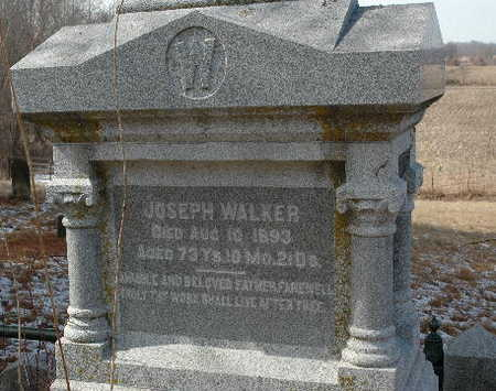 WALKER, JOSEPH - Johnson County, Iowa | JOSEPH WALKER