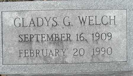 WELCH, GLADYS G - Johnson County, Iowa | GLADYS G WELCH