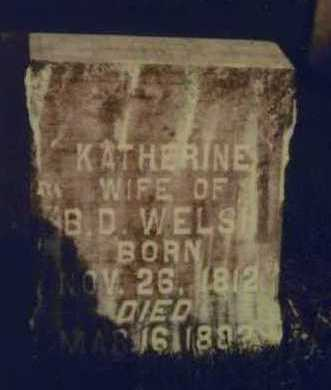 WELCH, KATHERINE - Johnson County, Iowa   KATHERINE WELCH