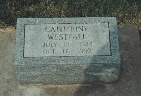 WESTFALL, CATHERINE - Johnson County, Iowa | CATHERINE WESTFALL