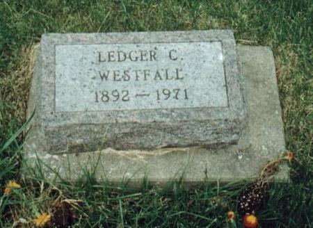 WESTFALL, LEDGER - Johnson County, Iowa | LEDGER WESTFALL
