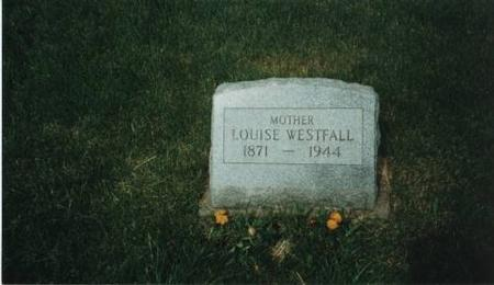 WESTFALL, LOUISE - Johnson County, Iowa | LOUISE WESTFALL