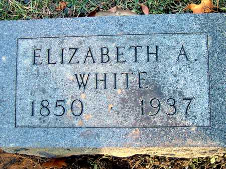 WHITE, ELIZABETH A - Johnson County, Iowa | ELIZABETH A WHITE