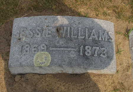 WILLIAMS, JESSIE - Johnson County, Iowa | JESSIE WILLIAMS