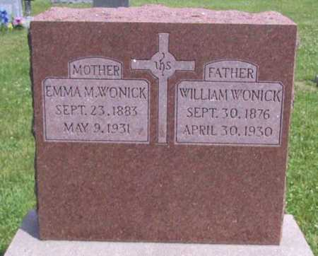 WONICK, WILLIAM - Johnson County, Iowa | WILLIAM WONICK