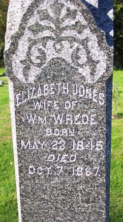 JONES WREDE, ELIZABETH - Johnson County, Iowa | ELIZABETH JONES WREDE