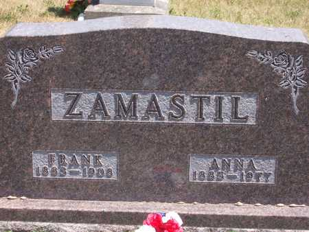 ZAMASTIL, FRANK - Johnson County, Iowa | FRANK ZAMASTIL