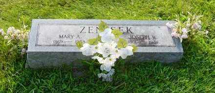 KUNCL ZENISEK, MARY A. - Johnson County, Iowa | MARY A. KUNCL ZENISEK