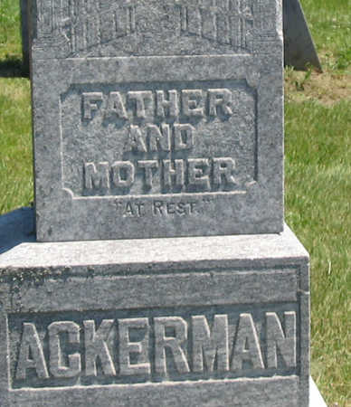 ACKERMAN, FAMILY - Jones County, Iowa | FAMILY ACKERMAN