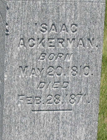 ACKERMAN, ISAAC - Jones County, Iowa | ISAAC ACKERMAN