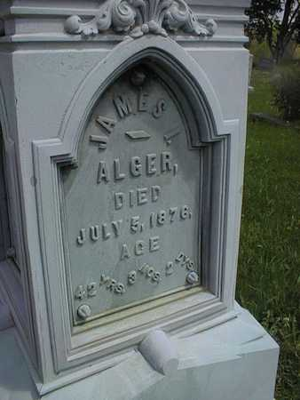 ALGER, JAMES I. - Jones County, Iowa | JAMES I. ALGER