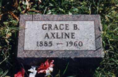 BRUTSMAN AXLINE, GRACE B. - Jones County, Iowa | GRACE B. BRUTSMAN AXLINE