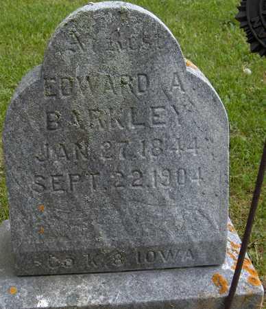 BARKLEY, EDWARD A. - Jones County, Iowa | EDWARD A. BARKLEY