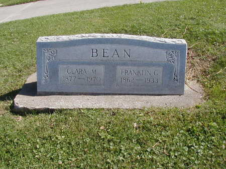 BEAN, FRANKLIN G. - Jones County, Iowa | FRANKLIN G. BEAN