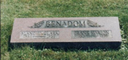 BENADOM, BLANCHE M. - Jones County, Iowa | BLANCHE M. BENADOM