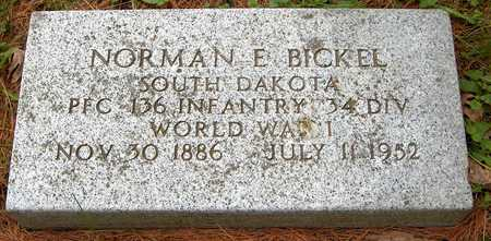 BICKEL, NORMAN E. - Jones County, Iowa | NORMAN E. BICKEL