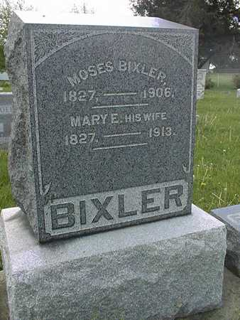 BIXLER, MARY E. - Jones County, Iowa | MARY E. BIXLER