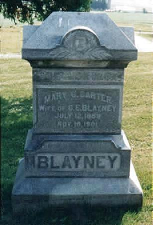 BLAYNEY, MARY OLIVE - Jones County, Iowa | MARY OLIVE BLAYNEY