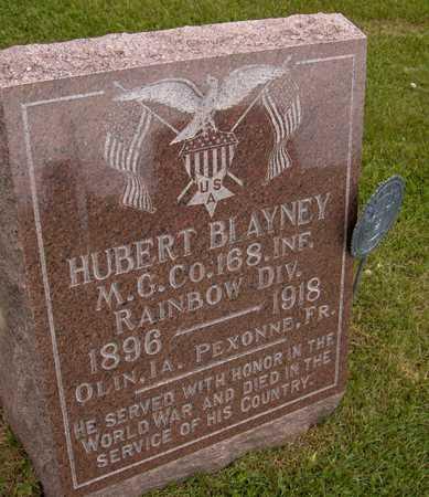 BLAYNEY, HUBERT - Jones County, Iowa | HUBERT BLAYNEY