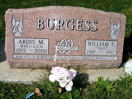 BURGESS, WILLIAM E.