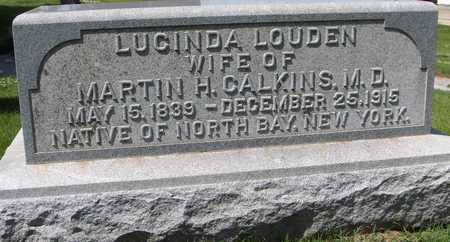 CALKINS, LUCINDA - Jones County, Iowa | LUCINDA CALKINS