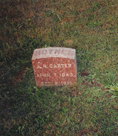 CARTER, ANNA - Jones County, Iowa | ANNA CARTER