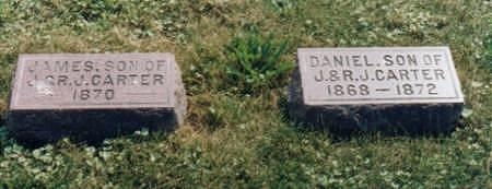 CARTER, DANIEL - Jones County, Iowa   DANIEL CARTER