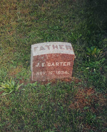 CARTER, JULIUS E. - Jones County, Iowa | JULIUS E. CARTER