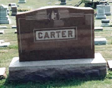 CARTER, RHODA - Jones County, Iowa | RHODA CARTER