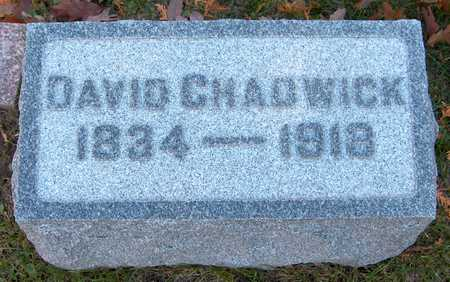 CHADWICK, DAVID - Jones County, Iowa | DAVID CHADWICK