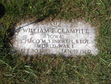 CLAMPITT, WILLIAM F. - Jones County, Iowa | WILLIAM F. CLAMPITT